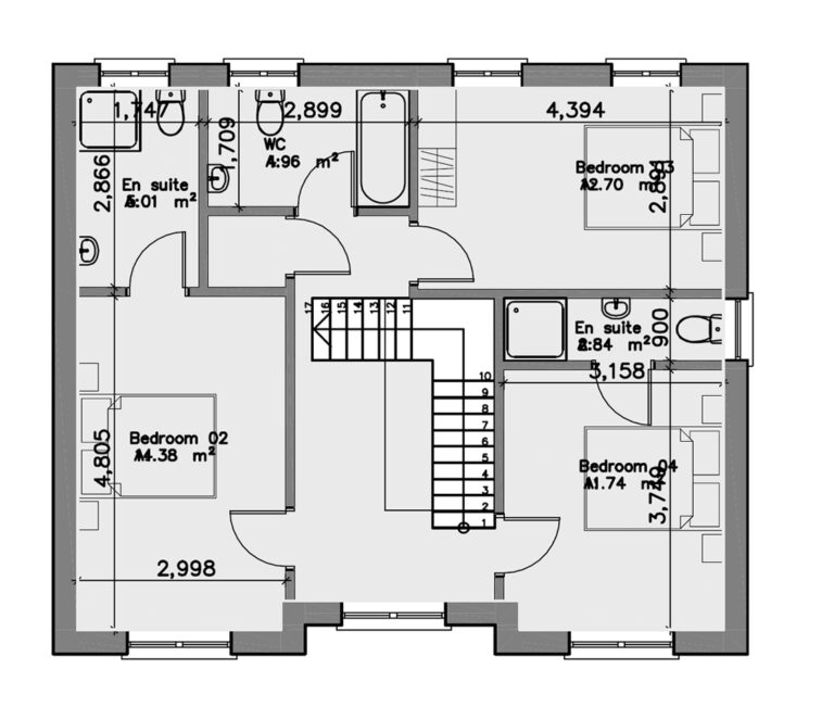 House F First Floor
